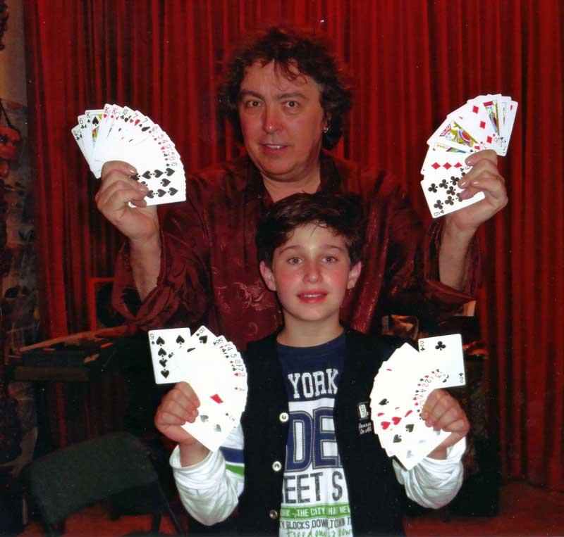 Las Vegas Nevada Oktober 2013 Jeff McBrice met alfredo Lorenzo you are the future of magic