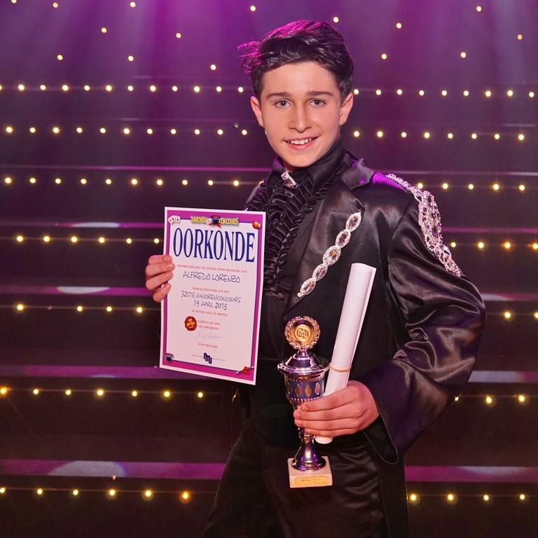 Nederlands Juniorenkampioen 2015